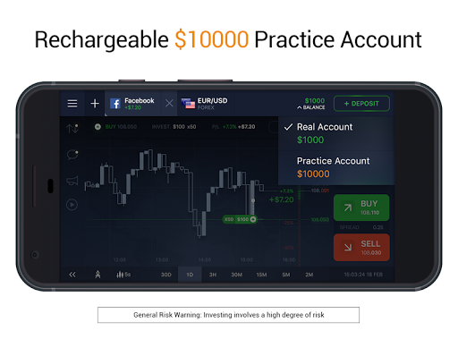IQ Option broker: trade forex, CFD's, bitcoin screenshot 3