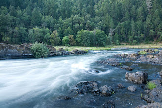 Photo: Scenic of the wild and scenic Rogue River in southern Oregon.