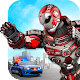 Police Flying Robot 3D: City Hero Transform Wars