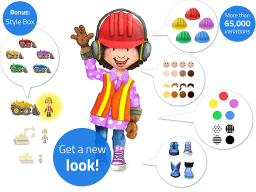 Tiny Builders: Crane, Digger, Bulldozer for Kids  screenshots 12