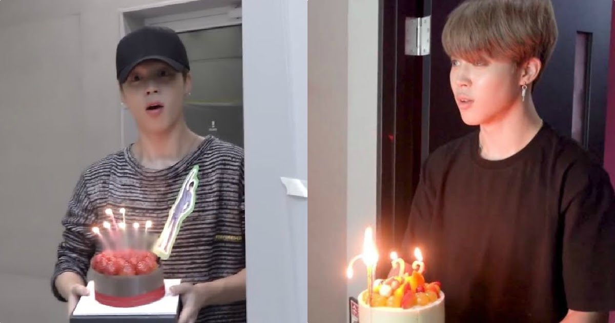 12 Times Bts S Jimin Was The Cake Fairy For Birthdays Koreaboo