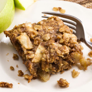 Apple Cinnamon Breakfast Squares (Vegan)