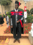 Ronald Lamola has graduated from University of Pretoria./Supplied