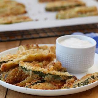 Crispy Zucchini Fries.