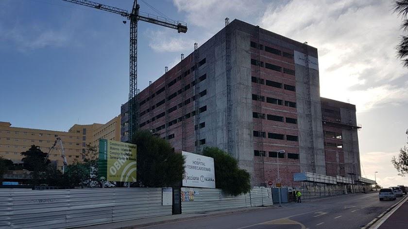 Obras en el Hospital Torrecárdenas.