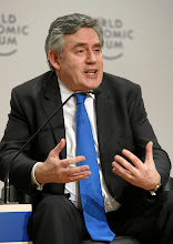 Photo: DAVOS/SWITZERLAND, 26JAN12 - Gordon Brown, Prime Minister of the United Kingdom (2007-2010) and Chair of World Economic Forum Global Issues Group;  captured during the session 'Responsible Leadership in Times of Crisis' at the Annual Meeting 2012 of the World Economic Forum at the Swiss Alpine High School (SAMD) in Davos, Switzerland, January 26, 2012.  Copyright by World Economic Forum swiss-image.ch/Photo by Remy Steinegger
