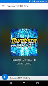 Rumbera TUY 106.9 FM screenshot 1