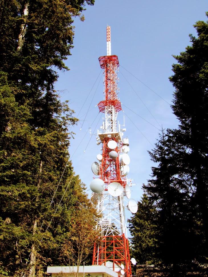 Pohorje - TV-URH gerincadó állomás