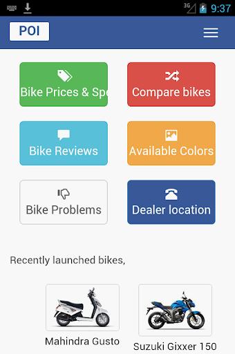 India Bikes : Price App : Reviews Colors Problems 30.0 screenshots 1