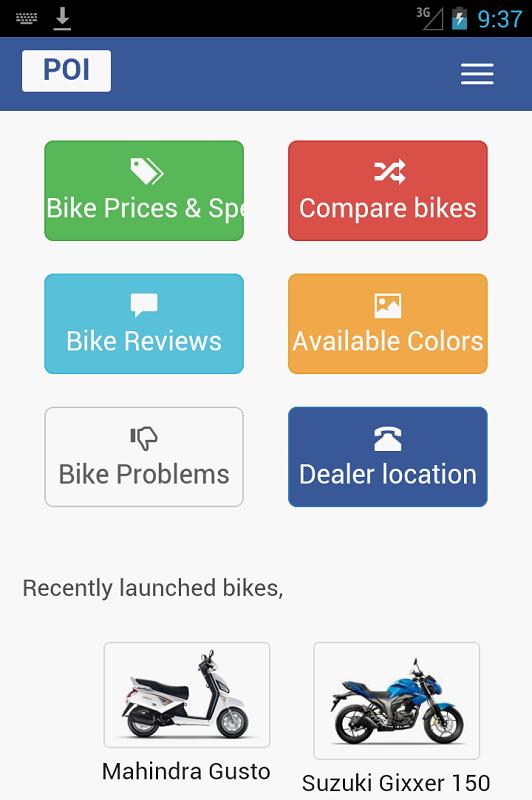 Bikes Comparison India India Bikes Price Specs