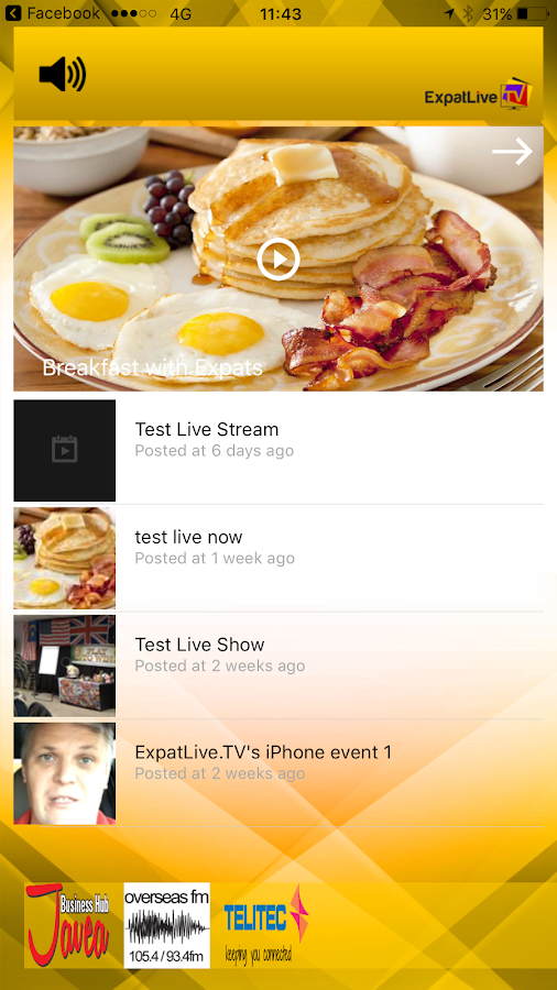 ExpatLive.TV- screenshot