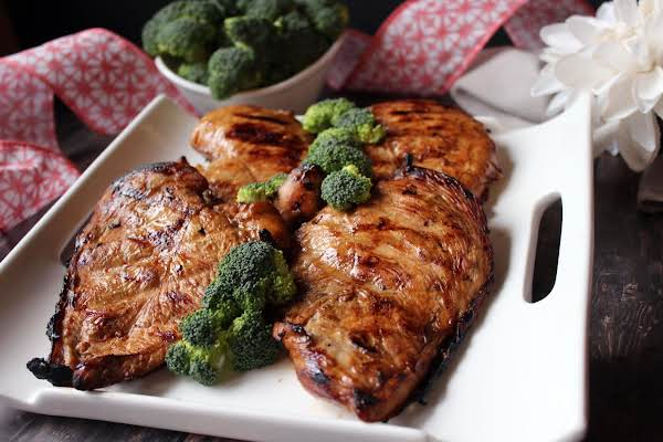 Super Easy Grilled Chicken Teriyaki