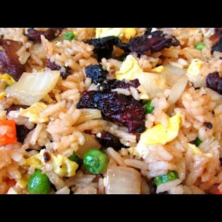 Crispy Duck Fried Rice - How to Make Fried Rice - Easy Chinese Recipe