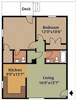 Go to The Clover Floorplan page.