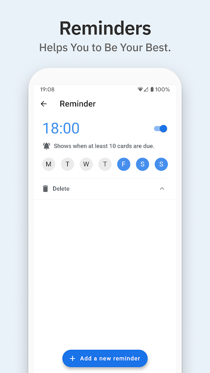 Space: Spaced Repetition System for Flashcards – (Android