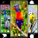 Birds HD Live Wallpaper 🦜 Parrots HD Wallpapers icon