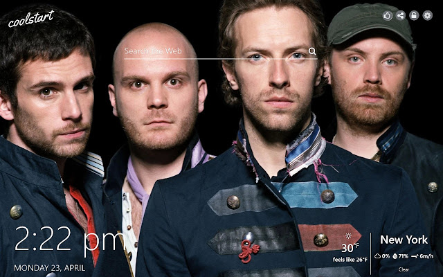 Coldplay HD Wallpaper Alternative Rock Theme