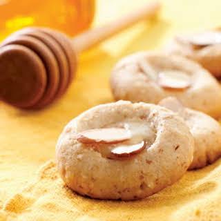 Almond & Honey-Butter Cookies.
