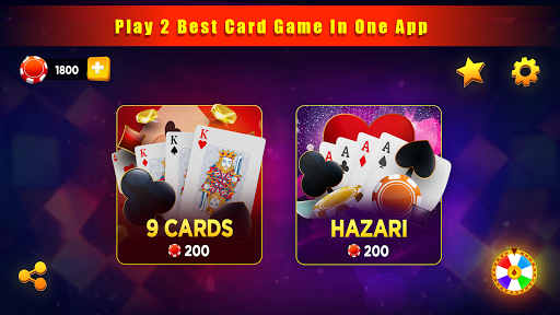 Hazari Gold (u09b9u09beu099cu09beu09b0u09c0)-1000 Points Game with 9 Cards apktram screenshots 11