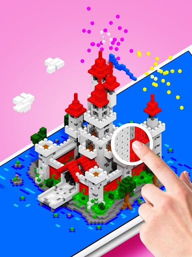 Voxly - Color by Number 3D, Unicorn pixel art for PC
