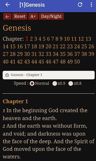 King James Audio - KJV Bible Free 3.6.1 screenshots 4