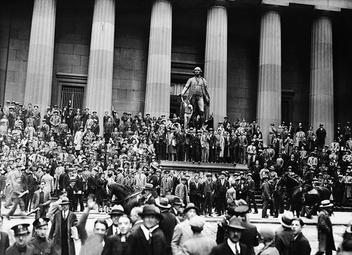 股市大崩盤的前兆-華爾街股災
