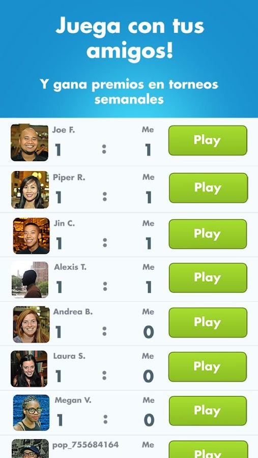 SongPop: captura de pantalla