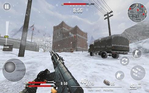 قواعد الحرب العالمية الحديثة: FPS Shooting Games 3