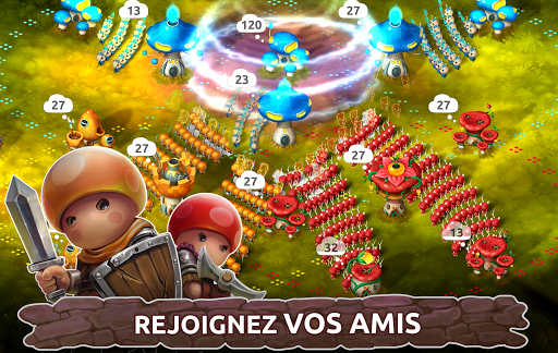 Télécharger Mushroom Wars 2 - RTS et Tower Defense Épique mod apk screenshots 3