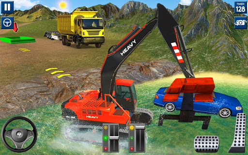 Heavy Excavator Simulator 2020: 3D Excavator Games filehippodl screenshot 3