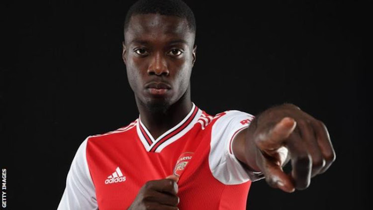 nicolas pepe arsenal sign lille winger for club record fee. Black Bedroom Furniture Sets. Home Design Ideas