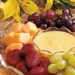 Peachy Fruit Dip