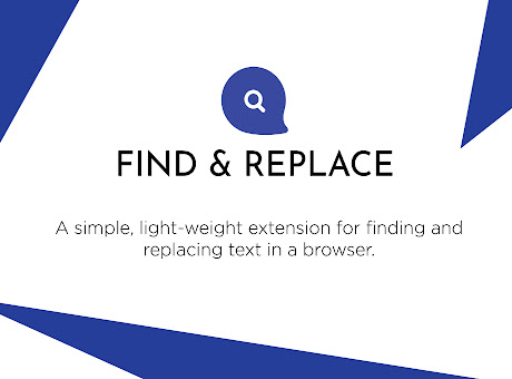 Find & Replace for Text Editing