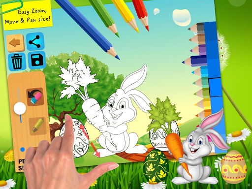 Easter bunny egg coloring book 1.06 screenshots 8