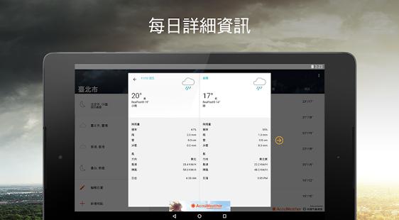 天氣預報由AccuWeather提供 - Google Play Android 應用程式