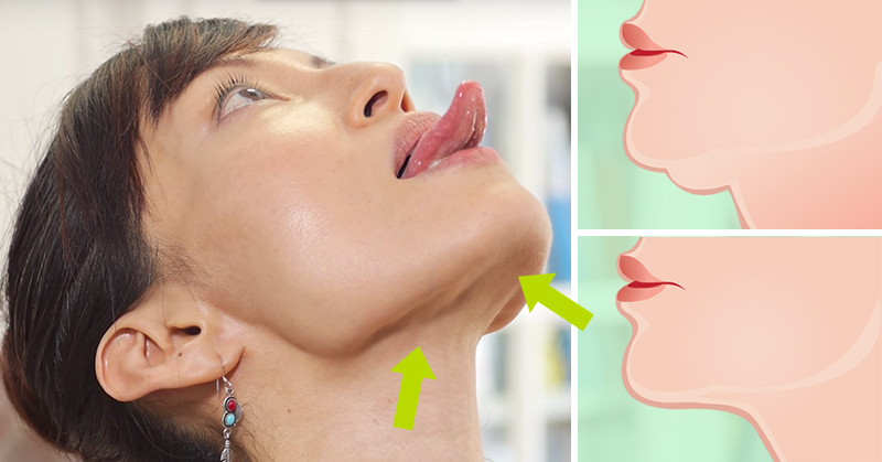 3 Ways to Lose That Double Chin Without Pills, Injections, or Surgery