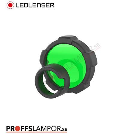 Tillbehör Ledlenser färgfilter grön 85,5 mm