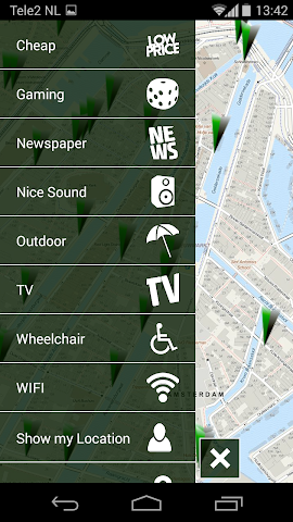 Screenshot 2 Coffeeshop Guide Amsterdam
