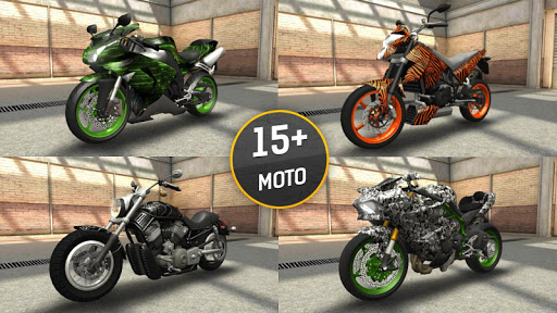 Moto Racing 3D  screenshots 3