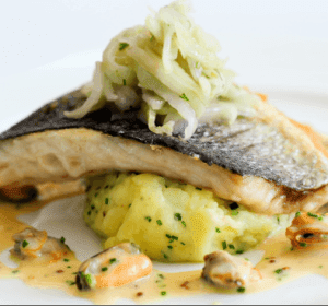 Bass with Fennel | nuwave oven recipe - Tips for Seafood -3