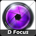 D Focus (depth of field) icon