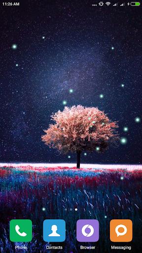 Awesome-Land Live wallpaper HD : Grow more trees screenshots 5