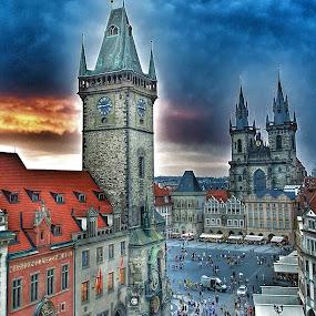Prague by Kjetil Salomonsen - City,  Street & Park  Historic Districts