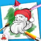 Tải Christmas Coloring Book Santa Game miễn phí