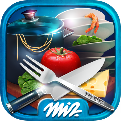 Hidden Objects Messy Kitchen – Cleaning Game Icon