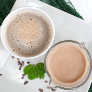 Mint Chocolate Coffee Creamer.
