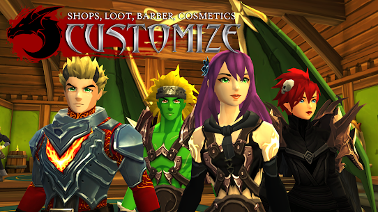 AdventureQuest 3D MMO RPG Mod Apk Download For Android and Iphone 2