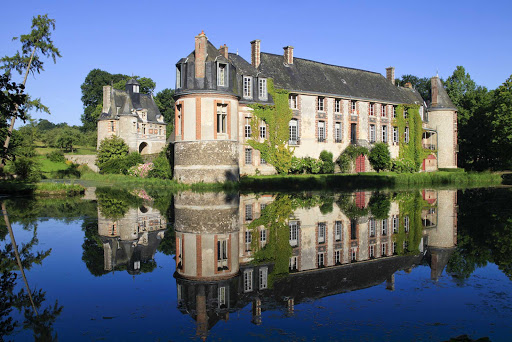 The Castle of Bec-Crespin (Château du Bec-Crespin) in Upper Normandy, France, is now a luxury hotel.