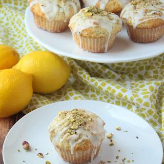 Lemon Pistachio Muffins