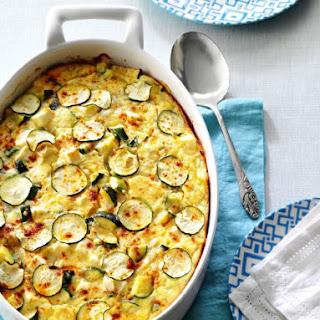 Greek Zucchini & Feta Bake.